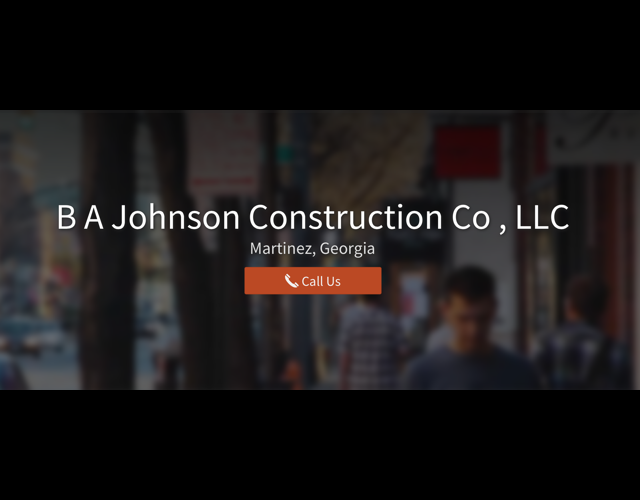 BA Johnson Construction